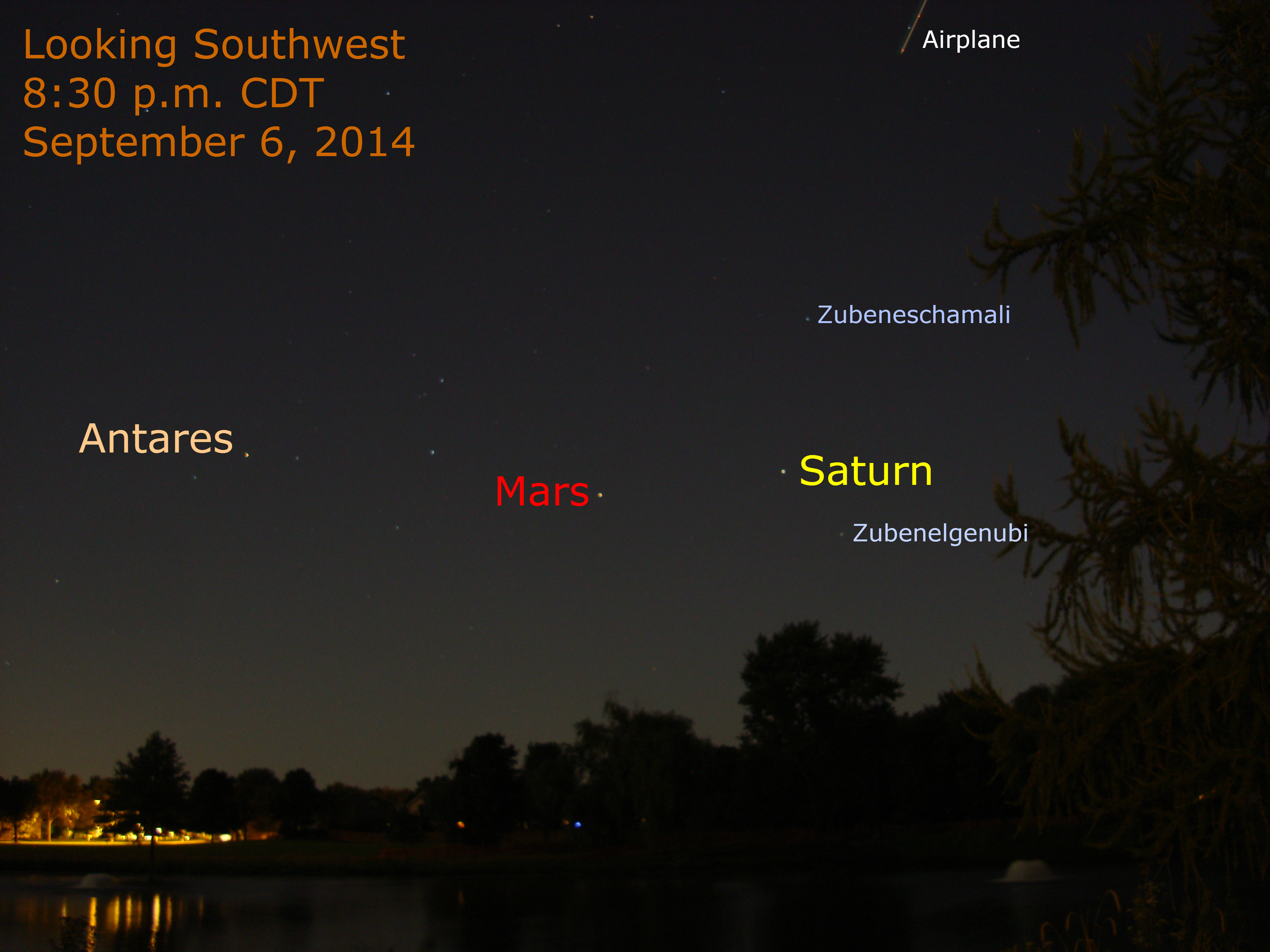 Mars And Saturn Tonight September 6 When The