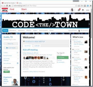 Code the Town