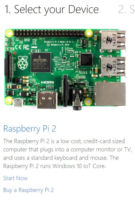 Windows 10 IoT on Raspberry Pi with Visual Studio and C#