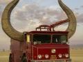 Every firetruck needs horns