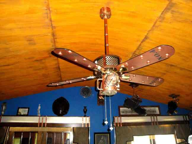 23 Steampunk Ceiling Fan