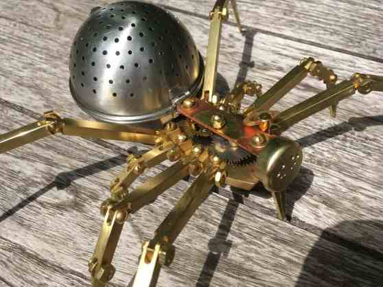 Steampunk Spider 4
