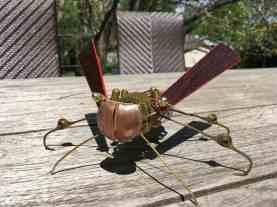 Steampunk Wasp- closeup