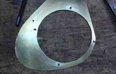 12 glass mount holes