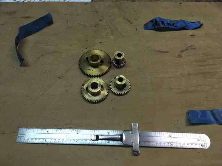 Mars Orrery Gears