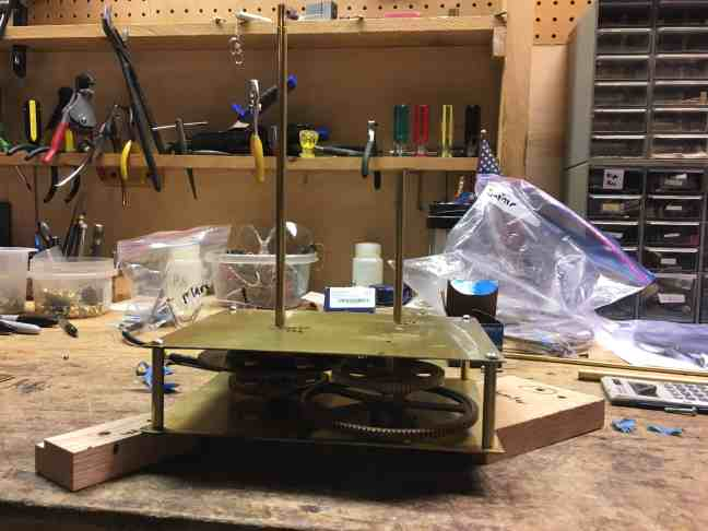 Orrery First Layer complete 2