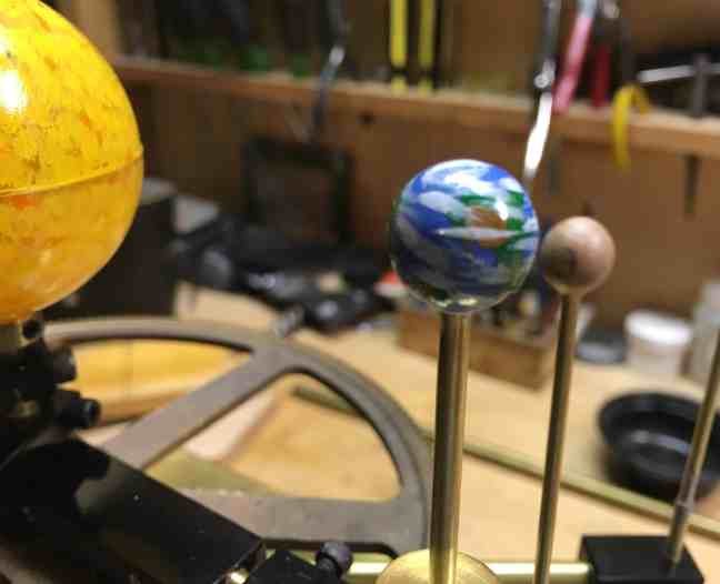 Orrery Earth+Moon