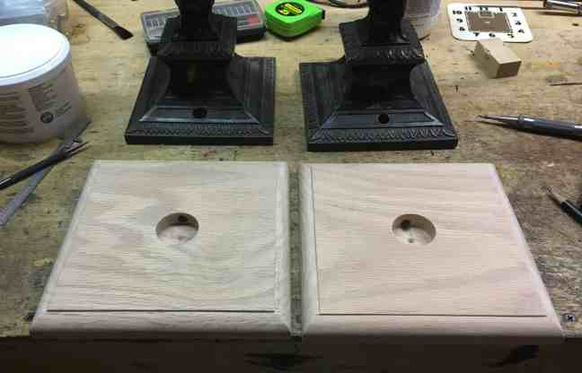 12 routered edge sanded