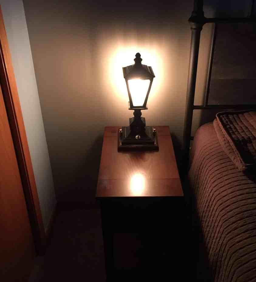54 Left Lamp
