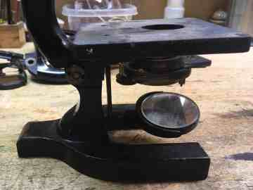 Microscope replacement base 2