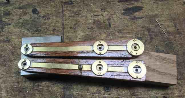 88 Oak Strips mounted