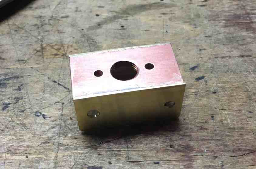 54 bracket with flange