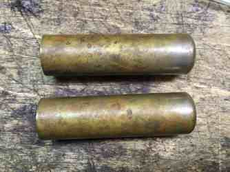 35 Brass tubes initial state