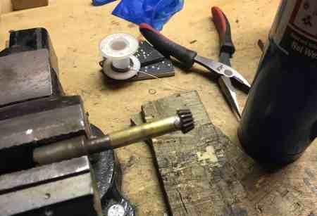 26-Solder brass gear 1