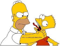 choking homer