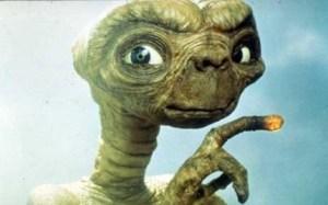 ET glowing finger
