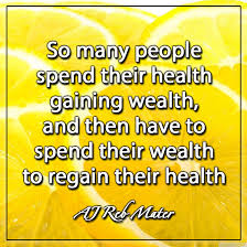 health quote Mater