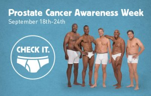 Prostate cancer awareness wk
