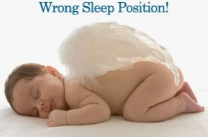 SIDS wrong sleep position