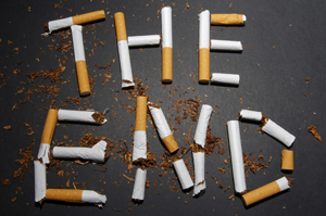 smoking the end