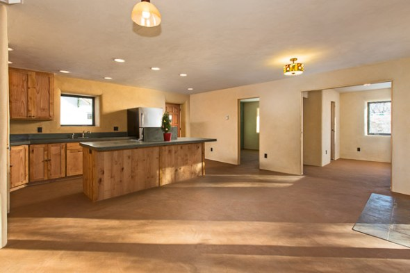 earthen floors and clay plaster