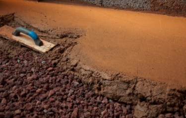 earthen floors by www.jeffreythenaturalbuilder.com