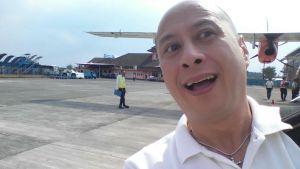 Mendarat di airport remote area - Abdul Rachman Sales Malang