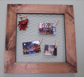 How to make a rustic wire frame