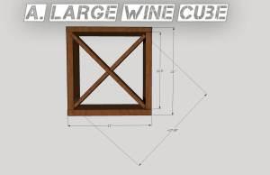 large wine cube