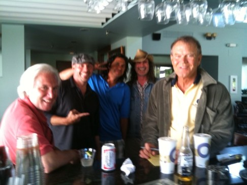 Me, Glen and the boys at the ASCAP Golf tourney..