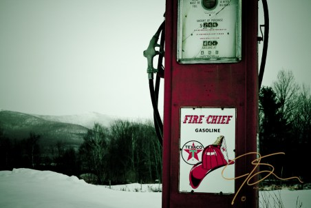Texaco Fire Chief gas pump