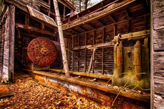 Turning Shed. Redstone Quarry, North Conway, NH