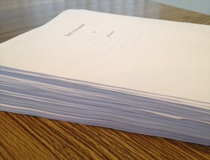 This is what twelve years looks like on paper!