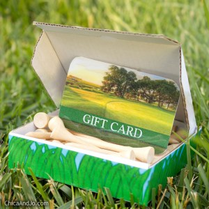 Gift of golf lessons