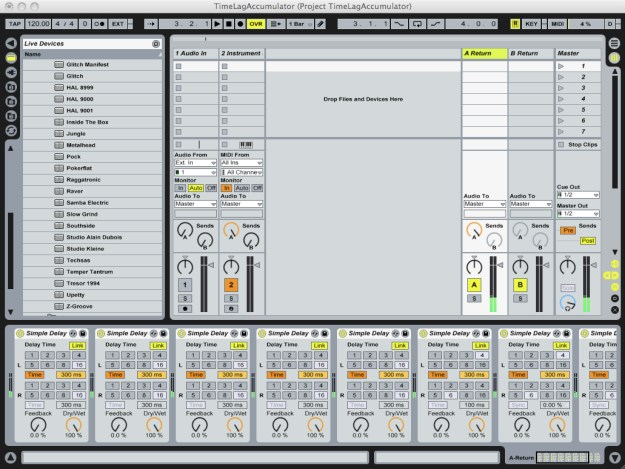 Ableton Live - Time Lag Accumulator