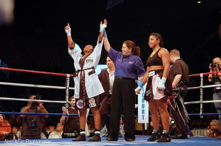 Tori Nelson wins the WIBA Belt
