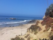the beach and sand