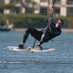 Surf kiter, Tampa Bay Florida, Jeff Wendorff Photographer