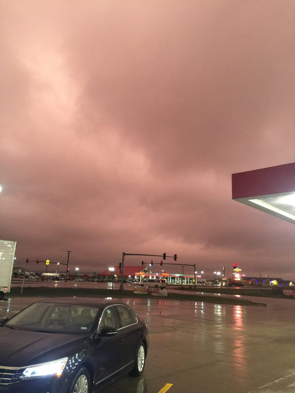 volkswagen passat in weather