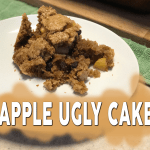 Apple Ugly Cake or IKEA Cinnamon Rolls