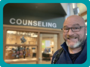 High School Counselor and Mental Health Therapist, Jeff Yalden.