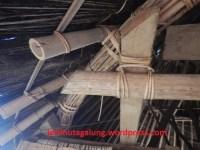 Sambungan Atap Menggunakan Tali Rotan