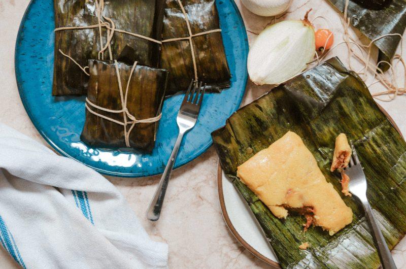 Trini Jackfruit Vegan Pastelles