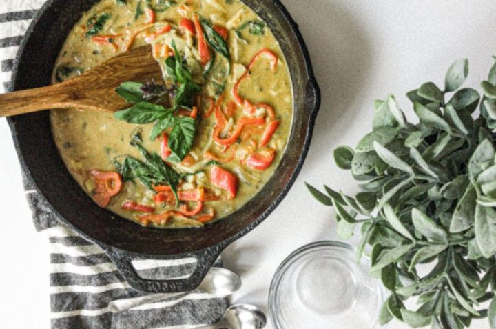 Thai Green Curry Jegbese