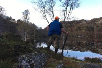 På jakt etter skogsfugl i Lund kommune (Rogaland)