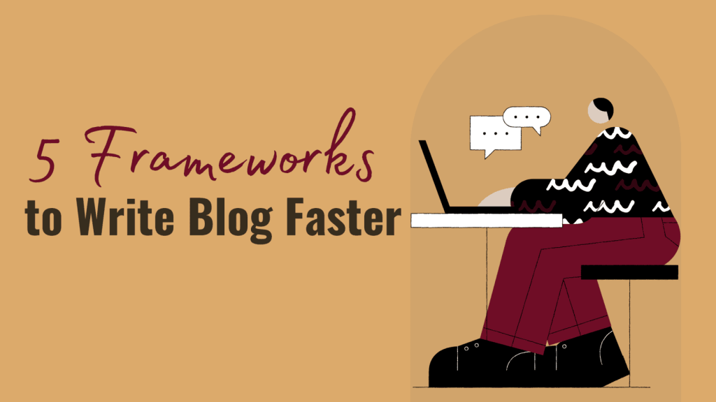Write Blog Faster With This Proven 3 frameworks