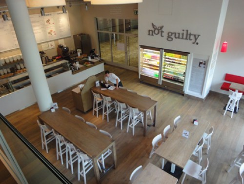 Sanierung des Restaurants