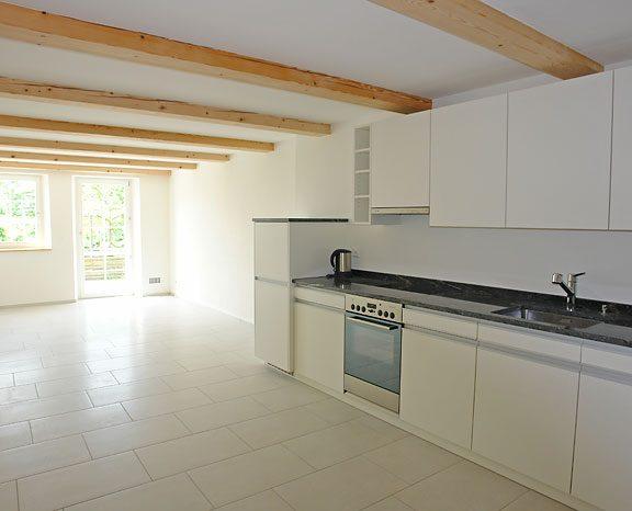Renovation der Küche