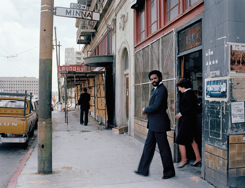 Office-workers-near-the-periphery-of-the-new-convention-center-Minna-at-4th-St.1980_11x14-copy