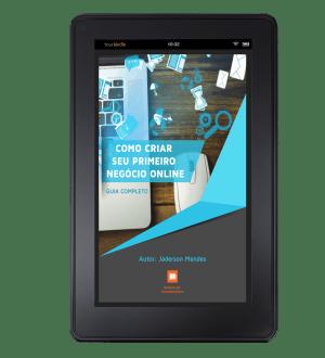 Capa para ebook 3D_Tablet
